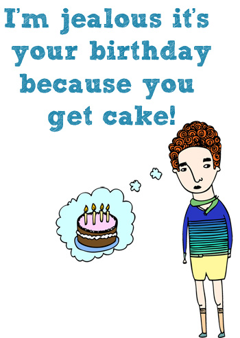 birthday card, birthdays, greeting card, able and game, cute, cake, birthday cake, quirky, funny